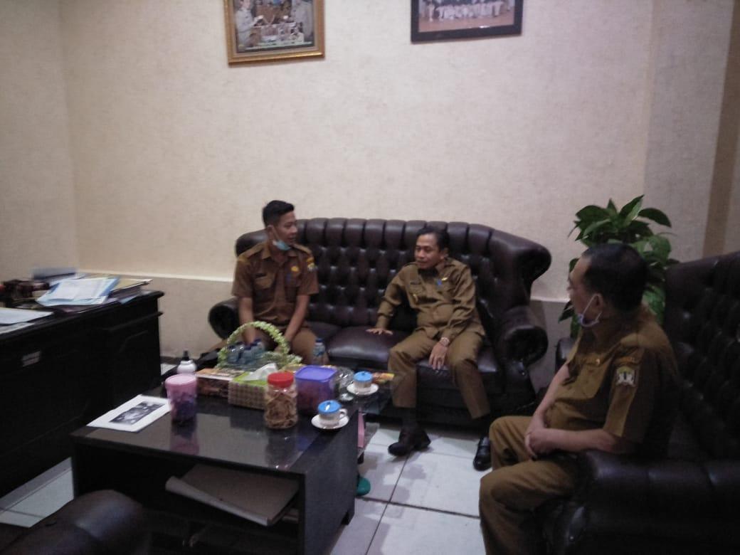 Kunjungan Bapak H. Subadri Ushuludin, SH Wakil Walikota Serang Ke Dinas Perpustakaan dan Kearsipan DPK Kota Serang pada Hari Senin, 08 Juni 2020